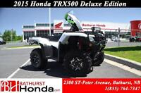 2015 Honda TRX500 Rubicon Deluxe LED Light! Mag Wheels! Independ