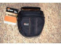 LowPro - Black camera bag - for compact or small bridge camera. New with tags