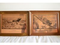 Etchmaster Originals Series of WW2 Aircraft Pictures