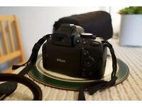 Nikon D5100 - barely used - camera bag included - shutter count 334