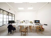 2-3 desk spaces in office/ creative studio - S. Bermondsey/ Peckham - £155 pcm each all in
