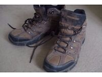 Boots Highlandcreek, quality mountain boots,Leather Man's shoes,hiking,water pr.