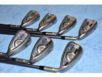 Ping G Series Irons Set 4-PW CFS 80 Stiff Graphite Shafts