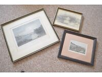 Set of Victorian Prints of Teignmouth Devon