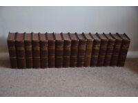A full set of Charles Dickens novels