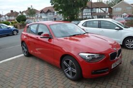 BMW 1 Series - 114i Sport 5dr- Red