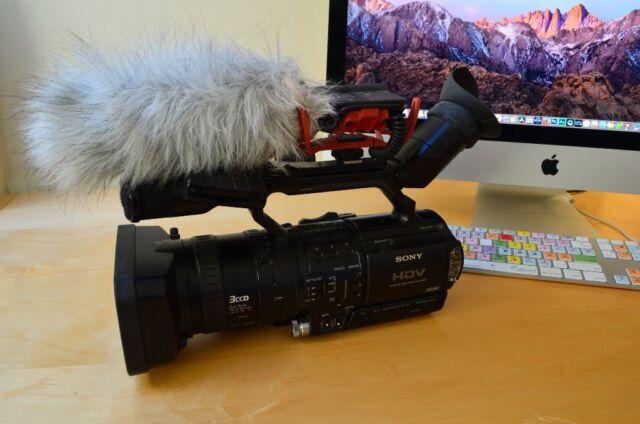 Sony HVR-Z1E DV Video Camera, Rode Video mic, Mac Mini editor many  accessories | in Cambuslang, Glasgow | Gumtree