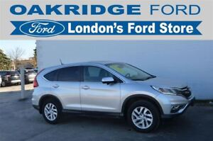 2015 Honda CR-V EX-L AWD - LOADED UP WITH LEATHER, MOONROOF, LAN