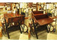 Industrial Style Secretary/ Campaign Desk