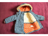 Boys winter coat 12-18 month