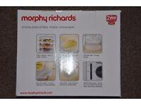 Morphy Richards 3 Tier Steamer - Stainless Steel 470001 - Food Steamer