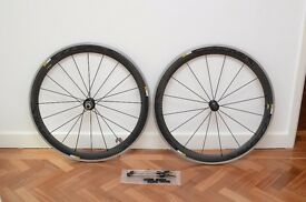 Mavic Cosmic Pro Carbon Clincher Wheelset SLS - Excellent condition!