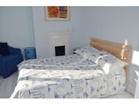 Good size bedroom with en-suite bathroom in shared house