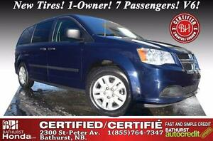 2015 Dodge Grand Caravan Canada Value Package Certified! New Tir