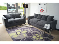 *BRAND NEW* JUMBO CORD 3+2 SOFA *AVAILABLE IN DIFFERENT COLOURS*
