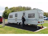 Lunar Apollo 615 (March 2000) 6 Berth family caravan in excellent condition one owner from new