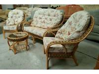 Good quality 4 piece conservatory set can arrange delivery