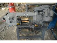 Sealey Metal Cutting Band Saw*** 150mm Cut*** 45 Degree Arm*** Working Order