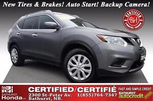 2014 Nissan Rogue S Certified! New Tires & Brakes! Auto Start! B