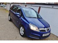 ++ 2007 56 Vauxhall Zafira 1.6i Club Manual 7 Seats ++