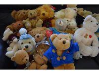 SELECTION OF TEDDY BEARS