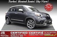 2014 Fiat 500L Trekking - Certified Got to See and try! New Tire