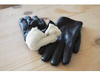 Leather/Fur gloves MADE IN ITALY