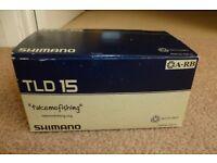 Shimano TLD 15 Lever Drag Fishing Reel BNIB