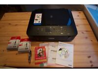 Canon Pixma MG 6450, in very good condition + 2 packs Ink Cartridge Genuine Canon PGI-550XL PGBK