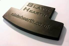 Slate Hearth T shaped for Woodburner, Coal, Gas or electric fires.