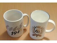 LOTUS CARS BRANDED MUGS x 2