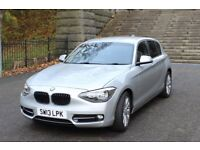 2013 BMW 1 SERIES 116i SPORT with SERVICE PACK UNTIL 24/06/18