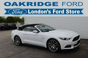 2016 Ford Mustang GT 5.0L V8 PREMIUM 401A, Convertible, Automati