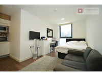 *** Studio Flat In New Build Apartment In Aldgate, E1 - Available Now! ***
