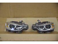 Left hand drive xenon AKL Adaptive headlights BMW F30 F31 2013 - 2015 LHD COMPLETE MOT TUV APK ITV