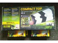 Terrarium canopy light reptile glo