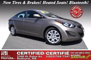 2014 Hyundai Elantra GL Certified! New Tires & Brakes! One-Owner
