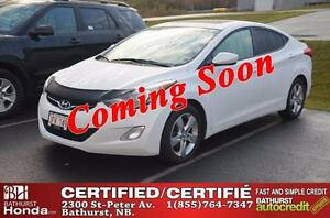 2013 Hyundai Elantra Limited Certified! Power Moonroof! Heated S