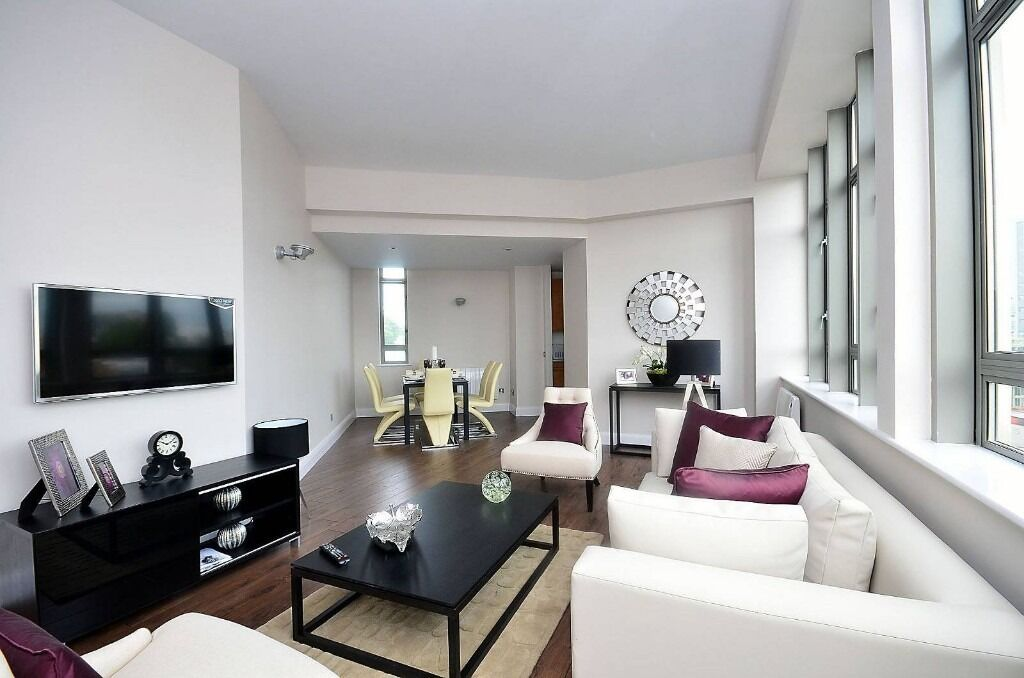 Luxurious 2 Double Bedroom 2 Bathroom Apartment With On-site Gym and Concierge Service.