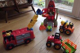 Happyland vehicle toys