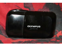 Olympus Mju 1 35mm Very Compact Film Camera. Working