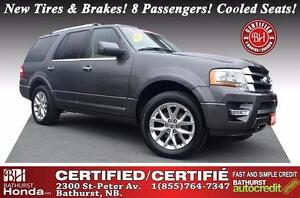 2015 Ford Expedition Limited LOW KM's!! New Tires & Brakes! 8 Pa