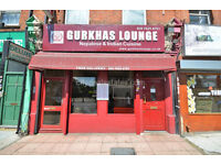 NW6: Very well presented and spacious A3 restaurant within a busy commercial parade