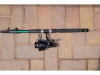 TELESCOPIC RODS & REEL