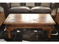 Indian antique coffee table (not reproduction)