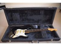 Squire Stratocaster by Fender made in Japan with heavy duty case