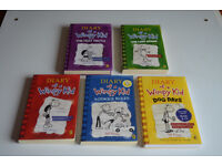 REDUCED! Children's books (Diary of a Wimpy Kid) - Please collect on July 1st