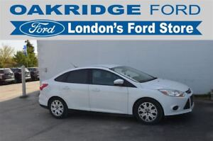2014 Ford Focus HEATED CLOTH TRIMMED SEATS, HEATED SIDE MIRRORS,