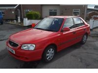 2002 Hyundai Accent Manual Hatchback