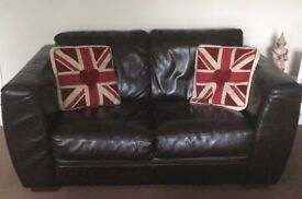 2 Seater Leather Sofa From Furniture Village